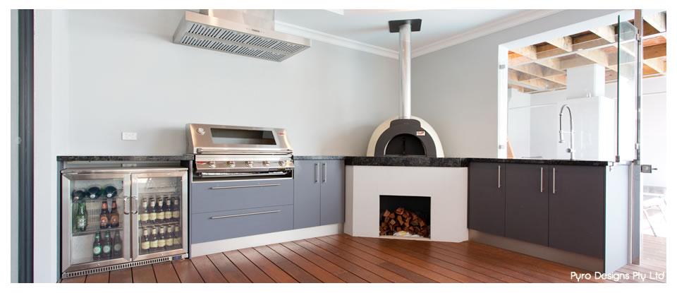 Pyro Designs Pty Ltd Perth Alfresco Kitchen Builders